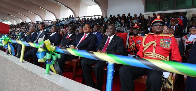 Sherehe za kuapishwa kwa Rais wa awamu ya tano wa Jamnhuri ya Muungano wa Tanzania Dkt. John Pombe Magufuli Novemba 5,2015